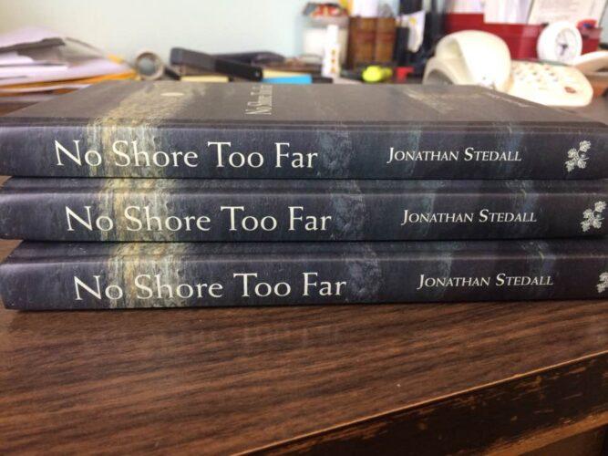 No Shore Too Far spines