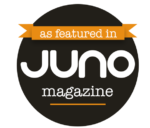 as featured in Juno Magazine