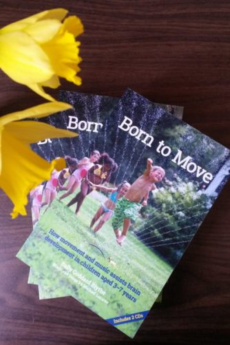 Born to Move with daffodil