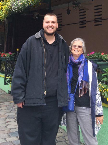 Susan Perrow and Milos Belcevic