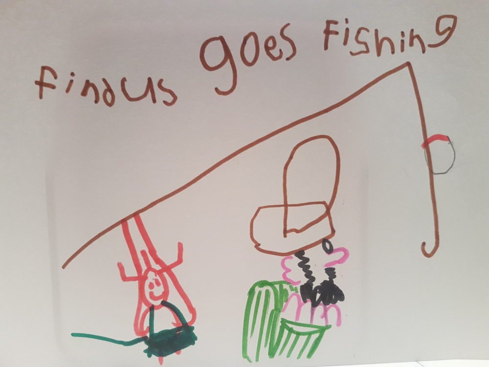 Findus goes Fishing by Remy